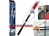 flo n go gas can - Pump Siphon Hand Transfer Liquid Gas Manual Oil Water Fuel 1 Hose Portable Sucker