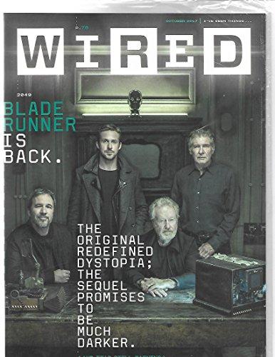 Wired Magazine - Wired Magazine october 2017 { Blade Runner}