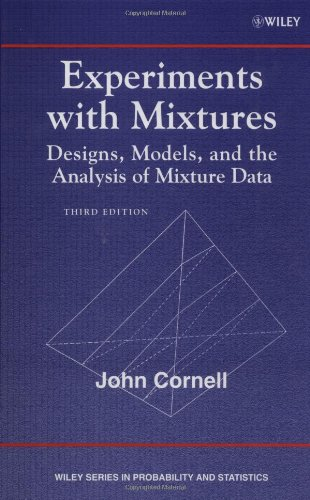 Experiments with Mixtures: Designs, Models, and the Analysis of Mixture (Mixture Models)