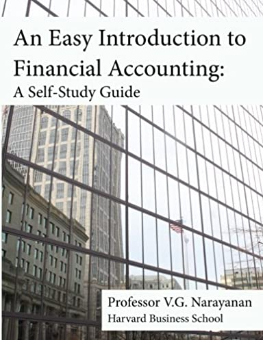 an easy introduction to financial accounting a self study guide rh amazon com financial accounting study guide n5 financial accounting study guide weygandt pdf