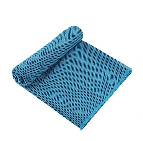 Kvantym Cooling Towel Soft Breathable Chilly Neck Wrap Microfiber Bandana Evaporative Towel for Yoga Golf Travel