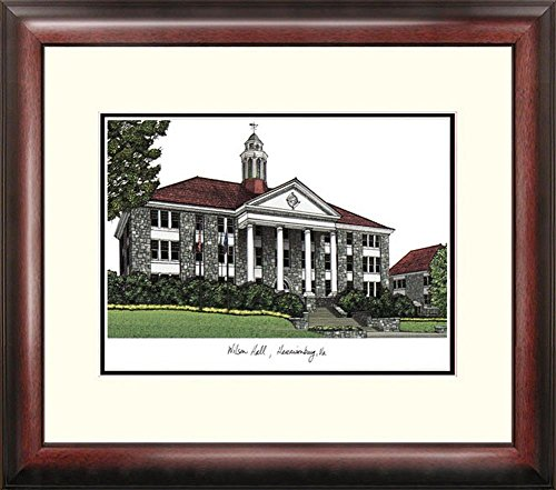NCAA James Madison Dukes Alumnus Framed Lithograph (James University Madison Lithograph)