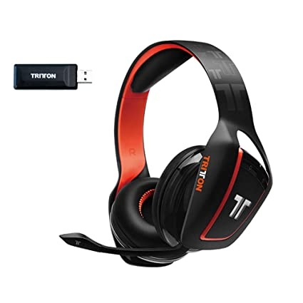 Tritton Ark 200 Negro – Auricular Gaming RGB inalámbrico con Micro para pc/ PS4