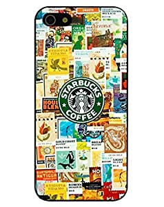 Season.C Starbucks Coffee Logo Picture Design Hard Back Case Cover for iPhone 6 (4.7 inch)