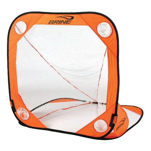 Brine Lacrosse Back Yard Wars Goal (4 x 4-Feet, Orange)