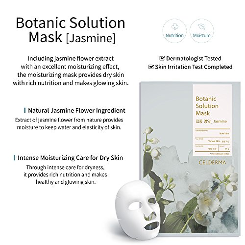 Celderma Korean Premium Sheet Mask - Solution Masks Masks