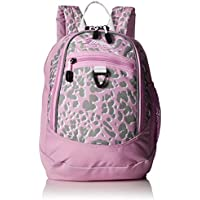 High Sierra Mini Fatboy High School Backpack Perfect for Boys and Girls (Shadow Leopard/Iced Lilac/White)