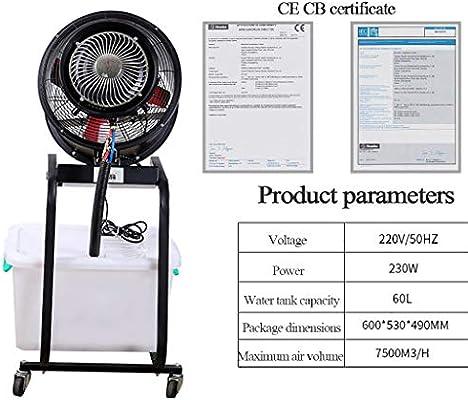 XN Fan Ventilador De Pie - Tanque De Agua De 60 litros | Pro ...