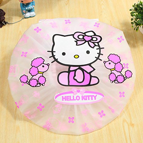 CJB Hello Kitty Bath Shower Caps Hats Dogs (US Seller)
