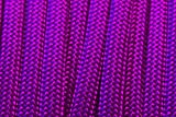 BoredParacord Brand Paracord/Parachute Cord 7-Strand, 550 Lb. Break Strength Guaranteed U.S. Made, Type III - Acid Purple (50 feet)