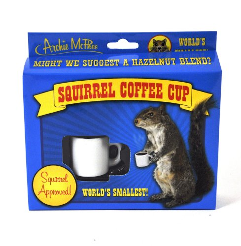 Accoutrements Squirrel Coffee Cup