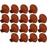 (18 Pack) Trimmer Edger Spool Cap Covers For Cordless Grass Trimmers-14pk