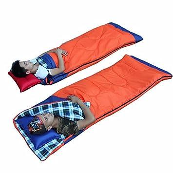 zhudj doble sacos de dormir, adultos al aire libre Camping, almuerzo, otoño y