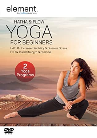 Amazon.com: Element: Hatha & Flow Yoga for Beginners [DVD ...