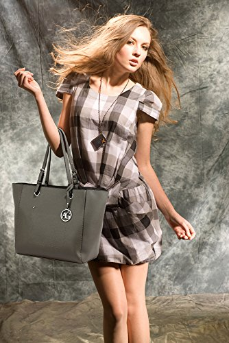 Beautiful FREE Tote Beautiful DELIVERY Bag Grey Women's Grey UK 5I7YwzYxq