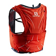Salomon Adv Skin 12 Set Fiery Red, Medium/Large