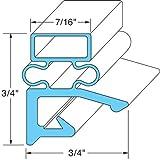 Hobart/Koch 268821-3 Magnetic Door Gaskets for Freezers/Coolers/Refrigerators 24-1/4 x 60-5/8 by Hobart/Koch