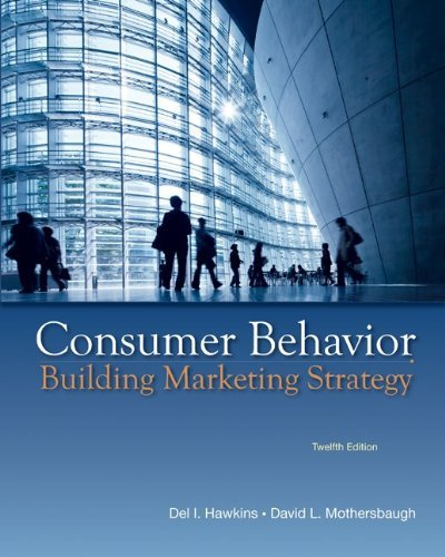 Download By Delbert Hawkins - Consumer Behavior: Building Marketing Strategy, 12th Edition (12th Edition) (2012-03-10) [CD-ROM] pdf epub