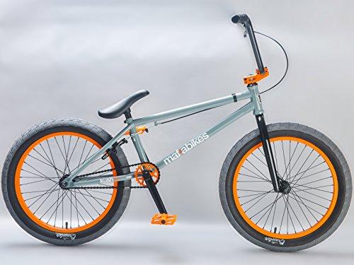 Mafiabikes Kush 2+ 20 inch BMX Bike GREY/ORANGE by Mafiabikes