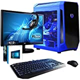 "VIBOX Apache Water Cooled Desktop Gaming PC Package 9.13 - with Windows 10 OS, WarThunder Game Bundle, 22"" Monitor, Gamer Keyboard & Mouse (4.0GHz AMD FX Six Core Processor, Nvidia Geforce GTX 960 Graphics Card, 16GB RAM, Gamer Case, 1TB Hard Drive)"