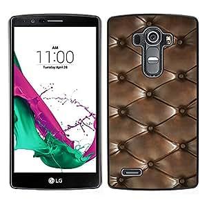 LG G4 / H815 H812 H810 H811 LS991 VS986 US991 Único Patrón Plástico Duro Fundas Cover Cubre Hard Case Cover - Diamond Pattern Leather Texture