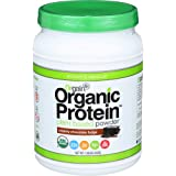 Orgain Organic Plant Based Protein Powder, Creamy Chocolate Fudge, 1.02 Pound, 1 Count