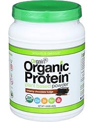 Orgain Organic Plant Based Protein Powder, Creamy Chocolate F...