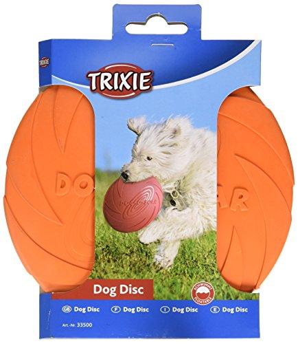 TRIXIE Dog Disc, Flotante, Caucho Natural, ø15 cm, Perro