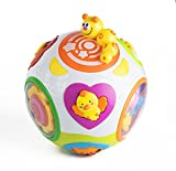 Playfulution Magical Rolling Light and Move Learning Activity Ball with Music