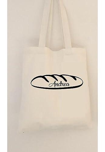 Bolsa de pan personalizada con asas. Algodón ecológico ...