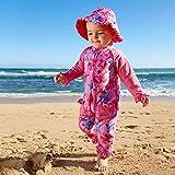 UV SKINZ UPF 50+ Baby Girls' Sun & Swim Suit - Hot