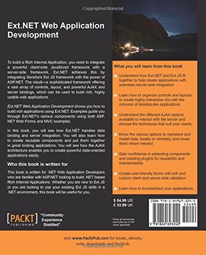ext net web application development pdf free download
