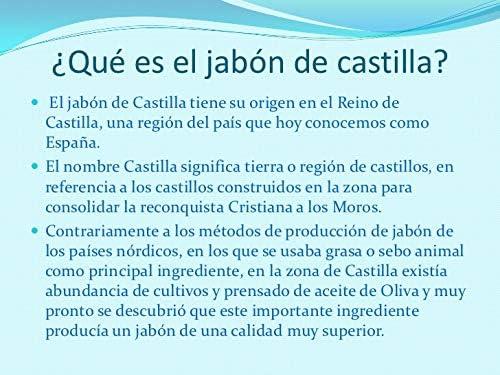 ÚNICO y AUTENTICO JABON DE CASTILLA - ECOLOGICO, a base únicamente ...