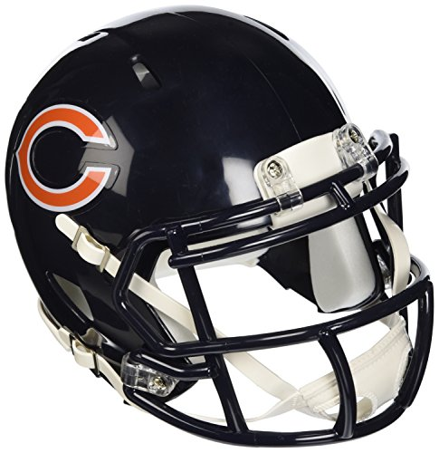 (Riddell Chicago Bears NFL Replica Speed Mini Football Helmet)