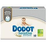 Size 3-sensitive (5-10?kg) Nappies Dodot Total 40?