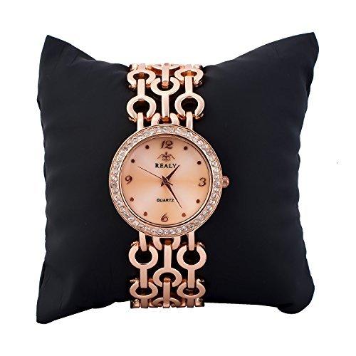 Ladies Dress Wrist Watch for Women - Female Rose Gold