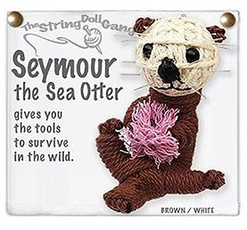 - Kamibashi Seymour the Sea Otter Original String Doll Gang Keychain Toy