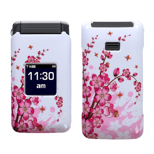 Hard Plastic Snap on Cover Fits Samsung U320 Haven Spring Flowers Alltel, Cricket, US Cellular, Verizon (Please carefully check your device model to order the correct version.)