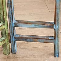 Rejilla cilíndrica de tres pliegues de estante de madera, estante ...