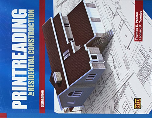 Print Reading For Residential Construction 6TH ED