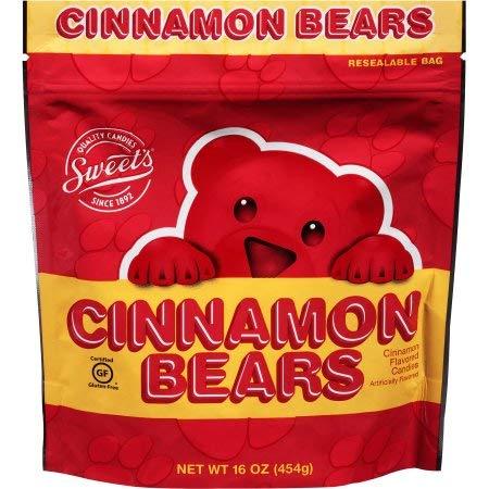Cinnamon Bears Candies (Pack of 24)