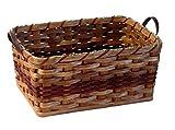 amish baskets and beyond - Amish Handmade Large Rectangular Fruit Basket in RED