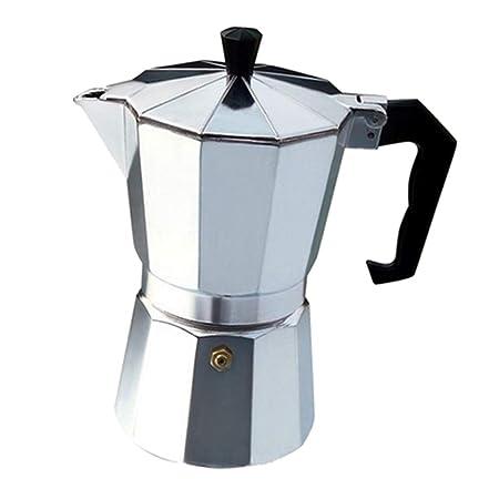 Cafetera Moka Clásica de Aluminio: Amazon.es: Hogar