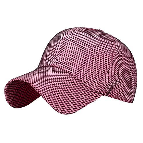 Vielgluck Quick Dry Baseball Hat for Women, Adjustable Race Running Cap Travel Mesh Sunscreen Visor Hat Best Gift for Her Pink (Best Black Dishwasher 2019)
