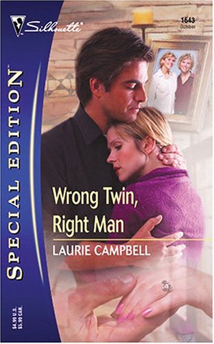 book cover of Wrong Twin, Right Man