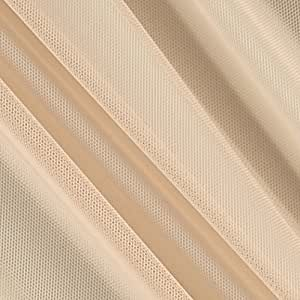 Telio Stretch Nylon Mesh Knit Nude Fabric By The Yard