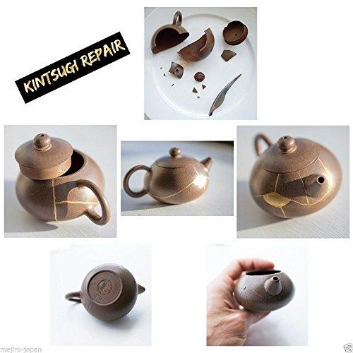 Kintsugi Repair Kit - Japanese Urushi Lacquer From Japan, Kintsukuroi by Mejiro Co. (Image #4)