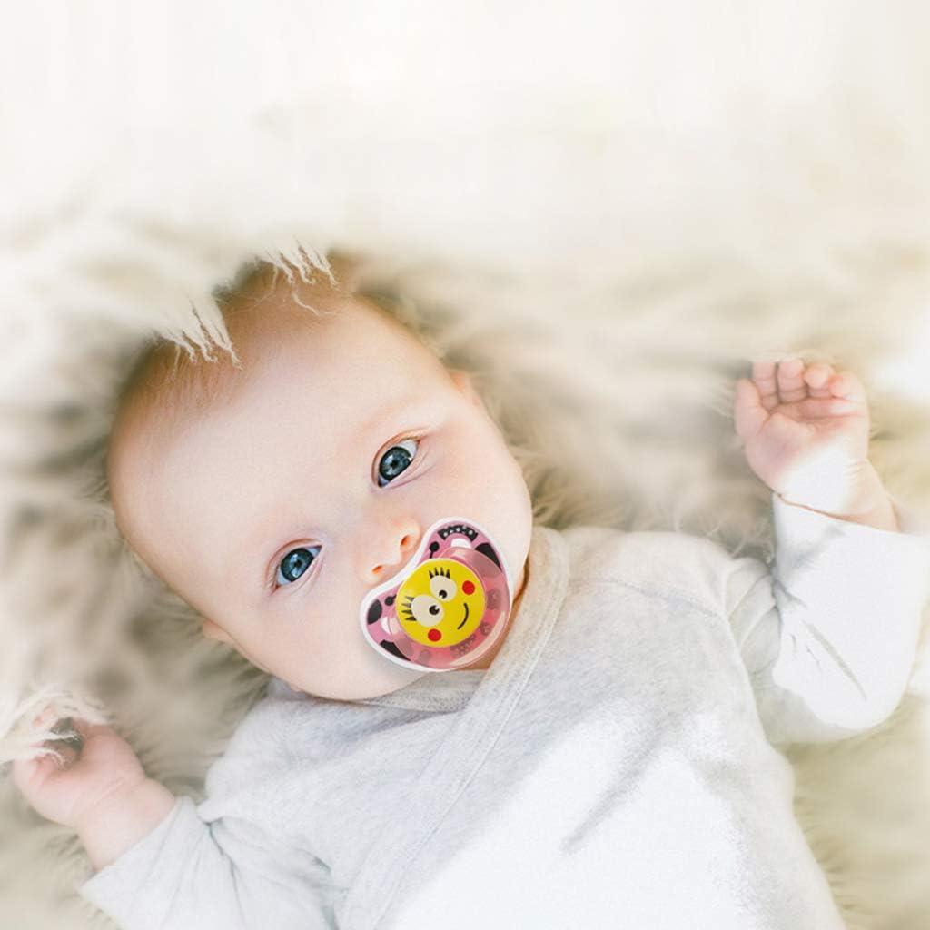 Haorw Schnuller,S/äuglingsschlaf Appease Nipple,Silikon Ungiftig,Beruhige Baby,0-6Monate Baby