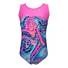 Girls Gymnastics Leotard - kids, youth and teen sizes (multiple prints available)