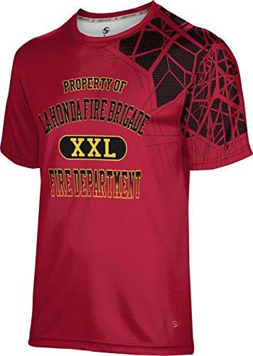 ProSphere Men's La Honda Fire Brigade Fire Department Enyo Shirt (Apparel) (Fire Brigade Peel)